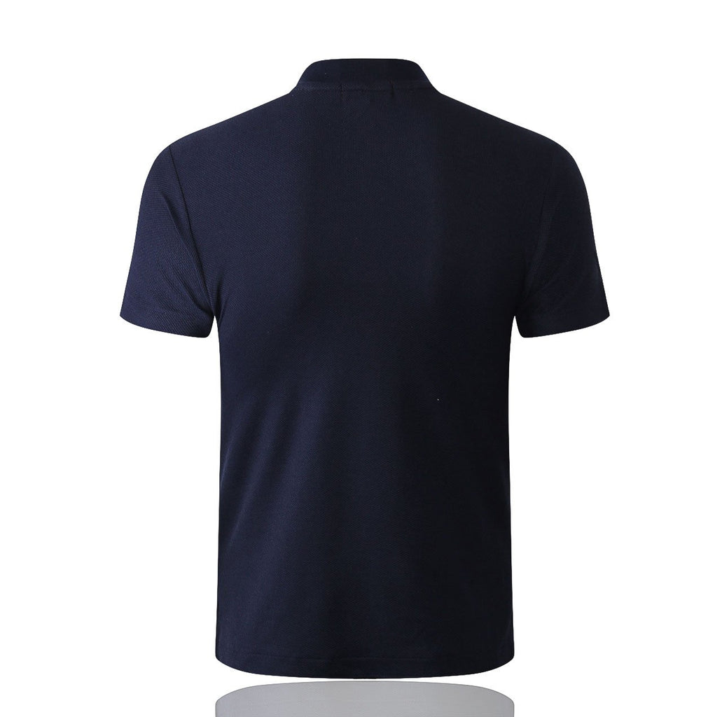 18-19 REAL MADRID Crest Polo training - Dark Blue