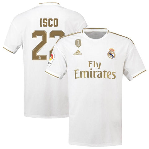Real Madrid adidas 2019/20 Francisco Román Alarcón  Jersey – White