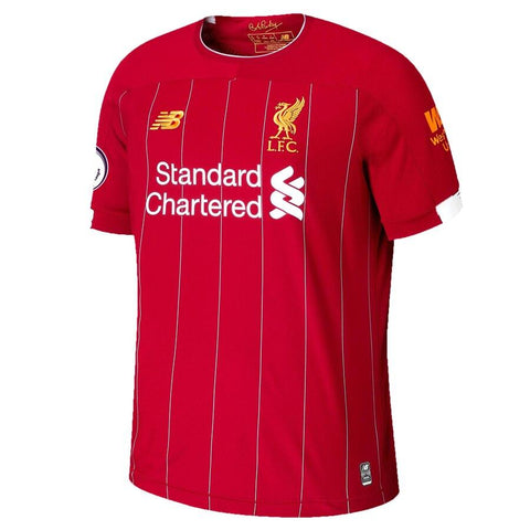 Image of Liverpool New Balance 2019/20 Roberto Firmino Jersey – Red