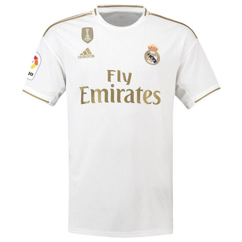 Image of Real Madrid adidas 2019/20  Karim Benzema Jersey – White