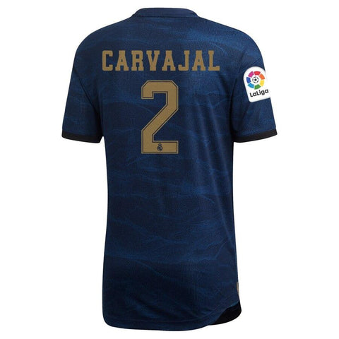 Real Madrid adidas 2019/20 Daniel Carvajal Jersey – Blue