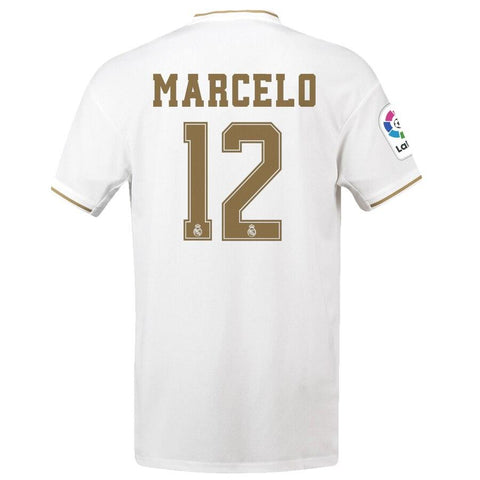 Image of Real Madrid adidas 2019/20 Marcelo Vieira da Silva Jersey – White