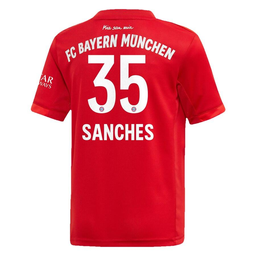 Bayern Munich adidas 2019/20 Renato Sanches Jersey – Red