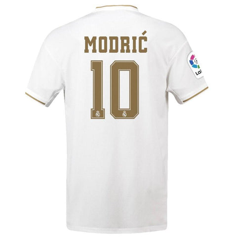 Image of Real Madrid adidas 2019/20 Luka Modric Jersey – White