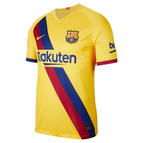 Image of Barcelona Nike 2019/20  Philippe Coutinho  Jersey – Yellow