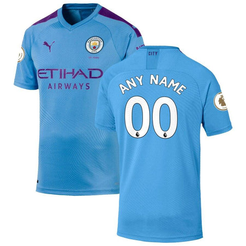 Image of Manchester City Puma 2019/20 Jersey – Light Blue