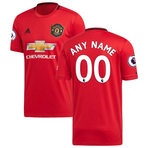 Image of Manchester United adidas 2019/20   Jersey - Red