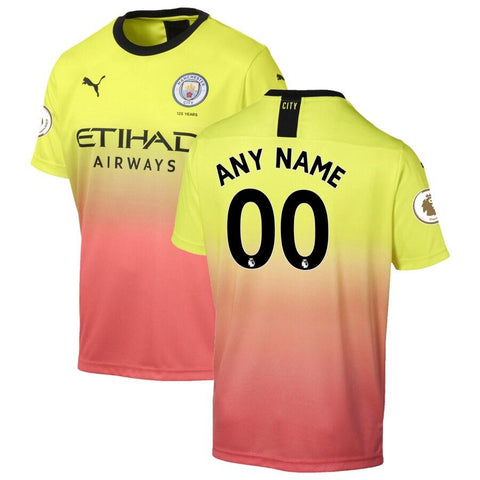 Manchester City Puma 2019/20 Jersey – Yellow