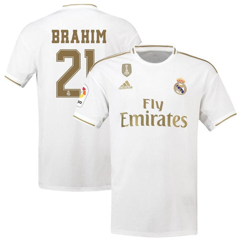 Image of Real Madrid adidas 2019/20 Brahim Díaz Jersey – White