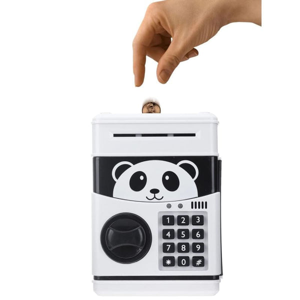 Tirelire Panda Coffre Fort à Code secret Électronique