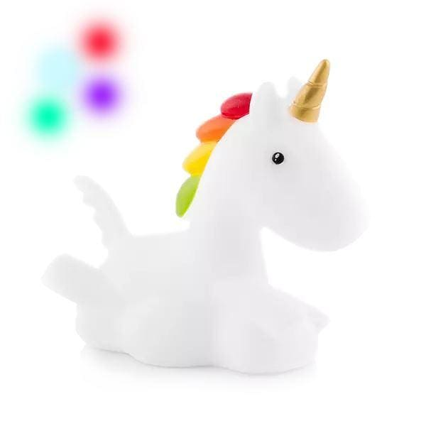 Veilleuse Enfant Licorne Multicolore à LED