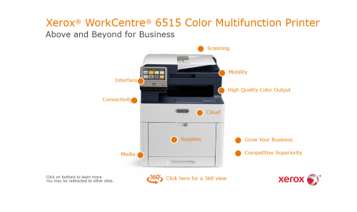 Xerox WorkCentre 6515 Interactive Features Guide