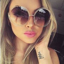 Load image into Gallery viewer, Luxury Vintage Retro Round Sunglasses. What's not to love? - Fashionsarah