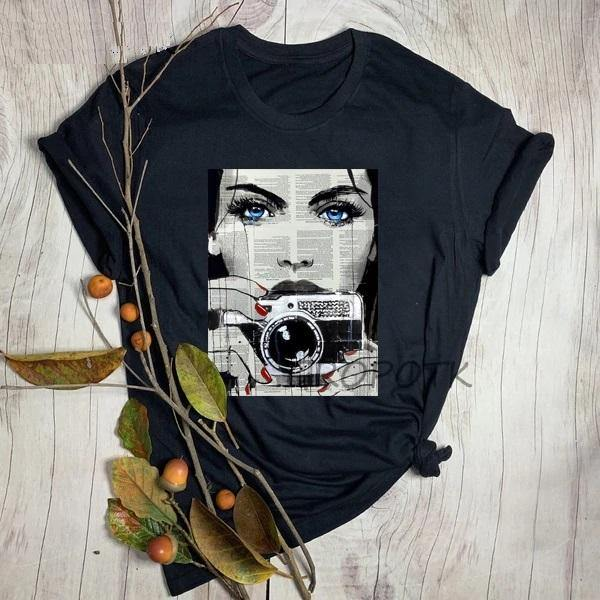 Graphic Tees Top - Fashionsarah