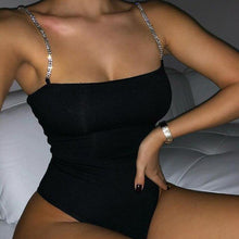Load image into Gallery viewer, Diamond summer bodysuit