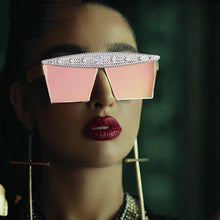 Load image into Gallery viewer, Luxurious Mirror Sunglasses