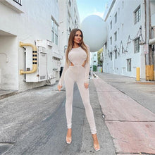 Load image into Gallery viewer, Khloe's Mesh Jumpsuit