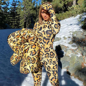 Fall Fashion Winter Leopard Outfit - Fashionsarah.com