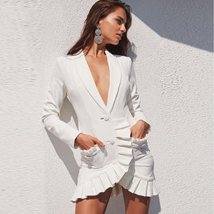 White Slim Cardigan