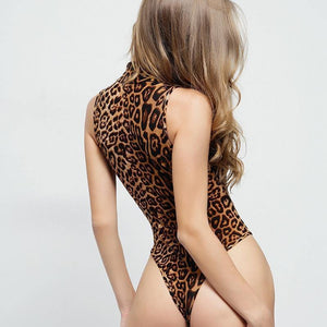 Stand Collar Bodysuit