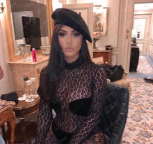 Load image into Gallery viewer, Kim's Animal Sexy Mesh Jumpsuit. - Fashionsarah