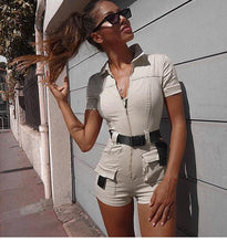 Load image into Gallery viewer, Summer Short Jumpsuits - Fashionsarah.com