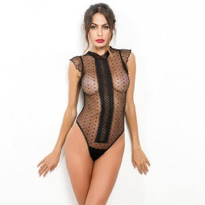 Elegant See Through Bodysuit! - Fashionsarah