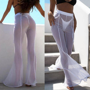 Summer Wide Trousers - Fashionsarah.com