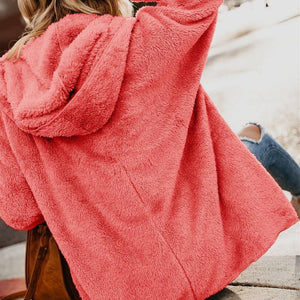 Hooded  Overcoat, New Trend! - Fashionsarah