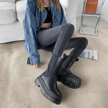 Load image into Gallery viewer, Platform Ankle Booties - Fashionsarah.com