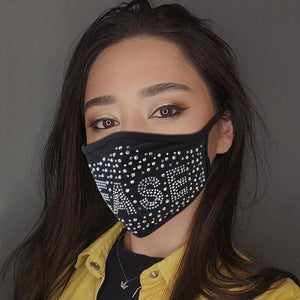 New Bling Rhinestones Mask - Fashionsarah.com