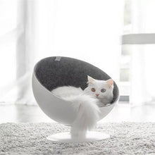 Load image into Gallery viewer, Rotating Cushion Cat Bed