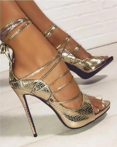 Luxury Gladiator Heels!