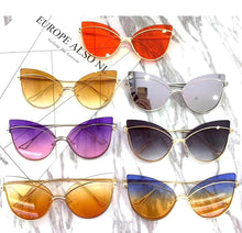 Load image into Gallery viewer, Sexy Luxury Cat Eye Sunglasses. - Fashionsarah