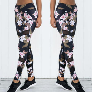 Fitness Floral Set - Fashionsarah.com