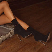 Load image into Gallery viewer, Jade Ankle Sock Boot - Fashionsarah.com