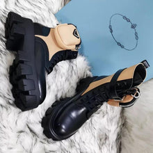 Load image into Gallery viewer, Moto Ankle Boots - Fashionsarah.com