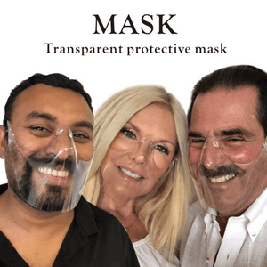 Protective Transparent Shield - Fashionsarah.com