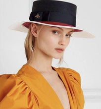 Load image into Gallery viewer, British Straw Hat - Fashionsarah.com
