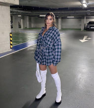 Load image into Gallery viewer, White Biker Boots - Fashionsarah.com