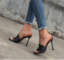 Load image into Gallery viewer, Square Toe Stilettos - Fashionsarah.com