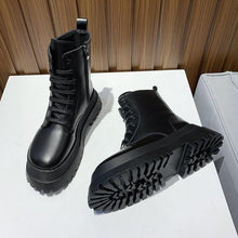 Load image into Gallery viewer, Hot Motorcycle Booties - Fashionsarah.com