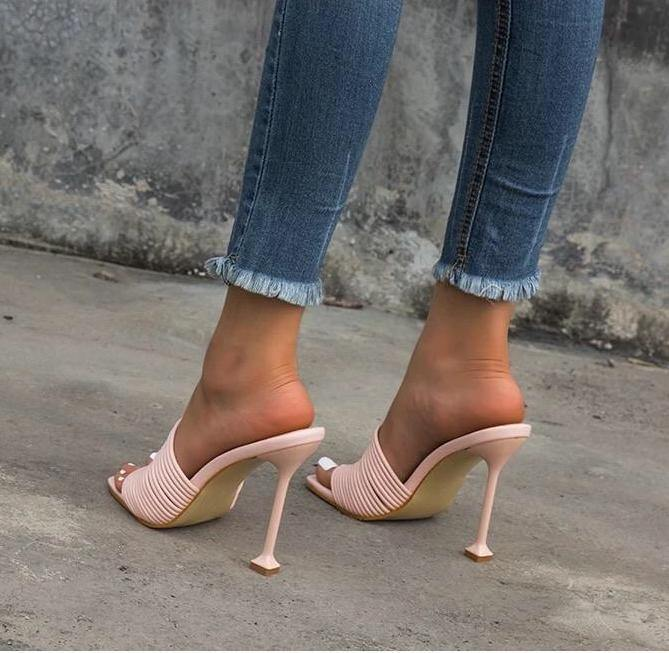 Square Toe Stilettos - Fashionsarah.com