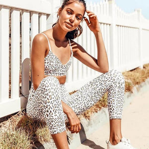 Sports Leopard Outfit - Fashionsarah.com