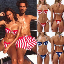 Load image into Gallery viewer, Couple Beachwear Matching!
