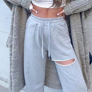 Loose Cut Sport Pants