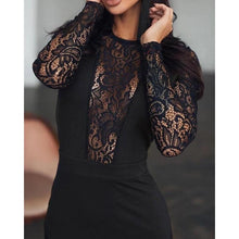 Load image into Gallery viewer, Slim Lace Midi Dress