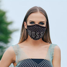 Load image into Gallery viewer, New Bling Rhinestones Mask - Fashionsarah.com