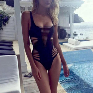 Hollow Out Monokini