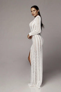 Knitted Summer dress - Fashionsarah.com